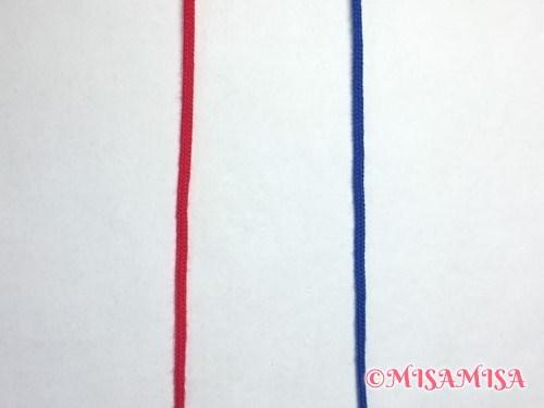 逆4の字結びのやり方1