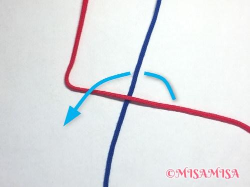 4の字結びのやり方2
