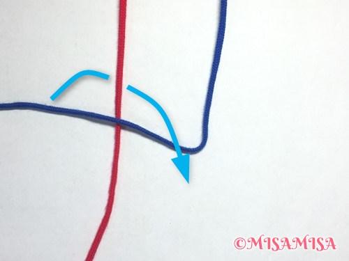 逆4の字結びのやり方2