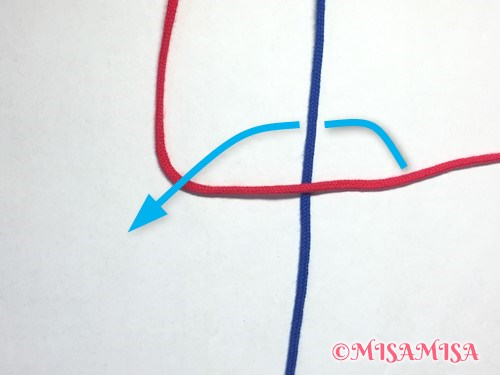 左タッチング結びのやり方2
