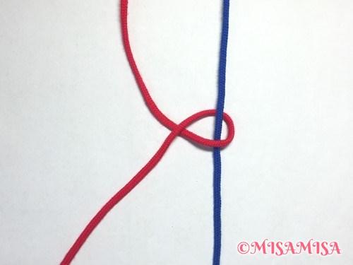 左タッチング結びのやり方3