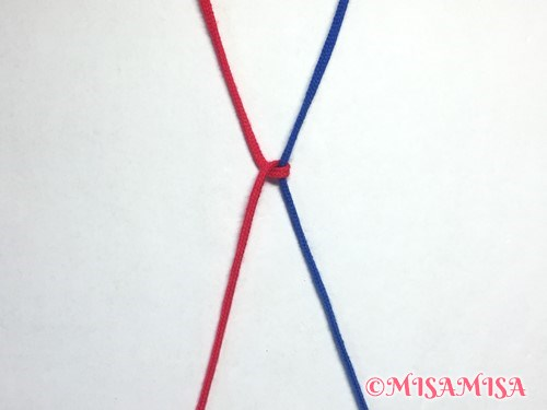 左タッチング結びのやり方4