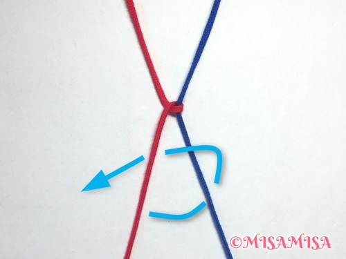 左タッチング結びのやり方5