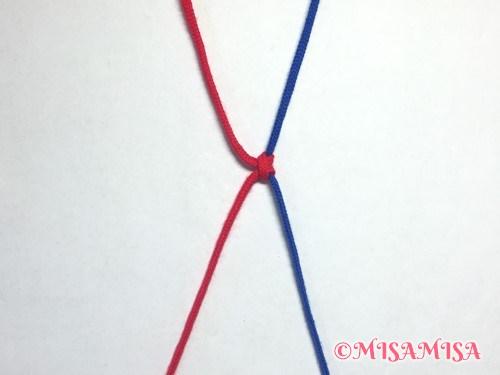 左タッチング結びのやり方7