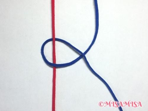 右タッチング結びのやり方3