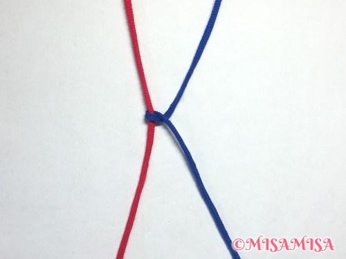 右タッチング結びのやり方4