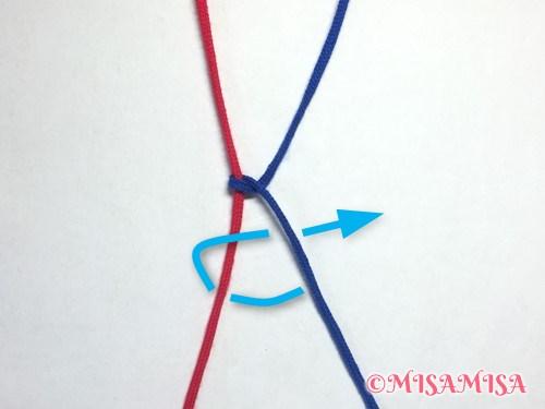 右タッチング結びのやり方5